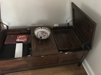 brown wooden dresser with mirror Bethesda, 20814