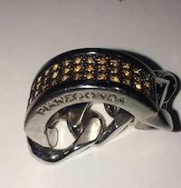 Pianegonda sterling silver chain ring Mount Holly, 28120