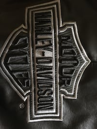 Leather Harley Jacket men's XL like new worn once.