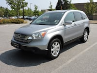 silver-colored Honda CR-V SUV Vancouver