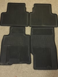 G35 Coupe Black Rubber Mats MARKHAM