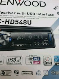 black and gray 1 din car stereo Silver Spring, 20901