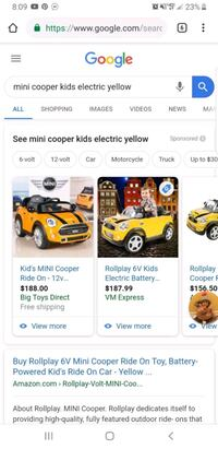 Toddler Mini Cooper electric ride on Stafford, 22554