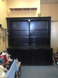 Large Wood Store Display Store Fixture