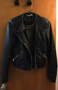 XS - Faux leather Jacket