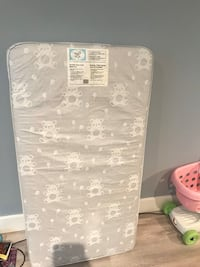 Crib mattress for toddler bed or baby crib