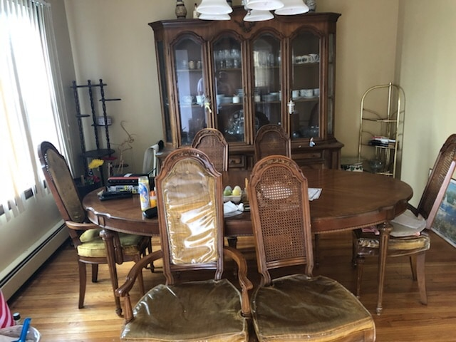 Credenza For Sale Perth : Used wood dining room table set for sale in perth amboy letgo