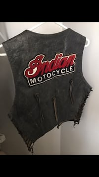 Rare Indian Leather Motorcycle Vest
