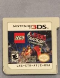 LEGO movie 3DS game still works good condition