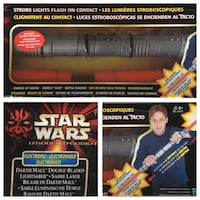 Star Wars double ended lightsaber Toronto, M3A 1R1