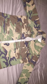 Army Fatigue Camouflage jacket/shirt West Park, 33023