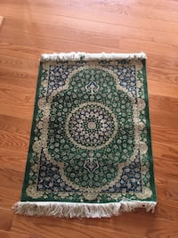 Qom style rug 23x33 inches  Falls Church, 22041