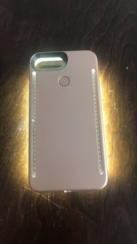 Rose gold iPhone 6/7 plus lumee case with 4 light settings Toronto, M5E