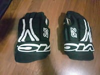 two black-and-white Adidas gloves Woodbridge, L4L