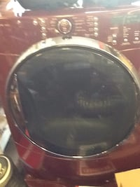 black and red front-load washing machine Hagerstown, 21740
