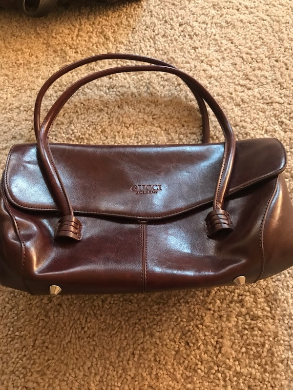 4a818af3f4 Used Black and brown leather handbag for sale in San Leandro - letgo