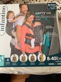 Infantino 4 in 1 multi pocket carry on carrier Falls Church, 22046