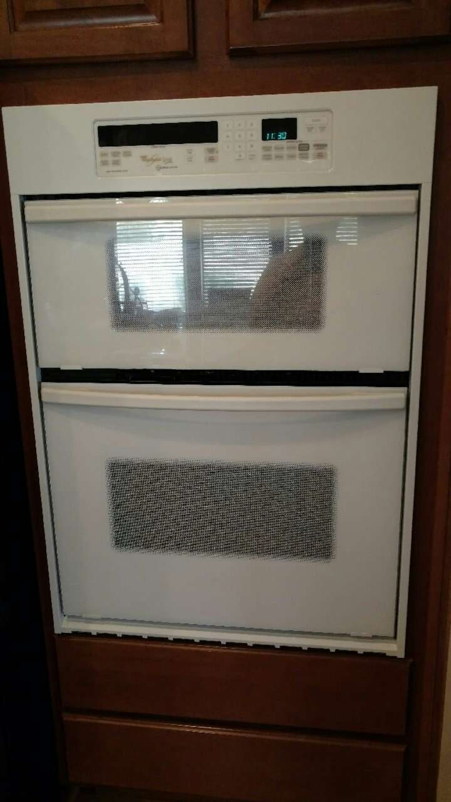 whirlpool gold series convection microwave manual