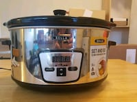 Bella Programmable Stainless Steal Slow Cooker Chevy Chase