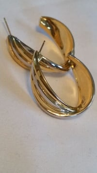Gold hoops 3 colours ..14K gfilled Oshawa, L1K 1J1