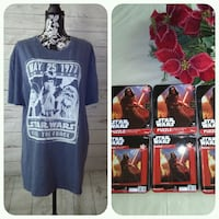 New Star Wars Shirt , with 5 Puzzles... Frederick