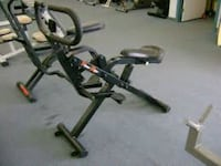 black and gray stationary bike Edmonton, T5Z 2T1