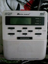 Weather Radio & Clock Radio Decatur, 35603