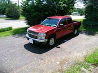 red Ford F-150 extra cab pickup truck 45 mi