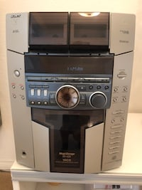 SONY STEREO MEGA LOAD 51 CD's with 4 SPEAKERS AND STANDS - great condition!!! Las Vegas, 89123