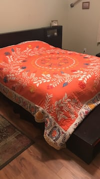 Anthropologie Quilt. Used for one year and dry cleaned
