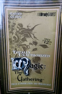 Magic the Gathering Book with over 125 card collec Newtown Square, 19073