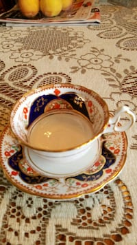 Mint Condition antique tea cup and saucer