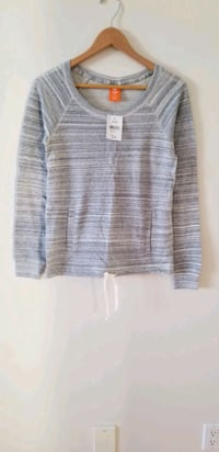 Brand new with tags Joe fresh sweatshirt with drawstring xs