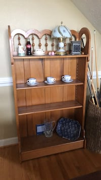 antique wooden bookcase Suffolk, 23435