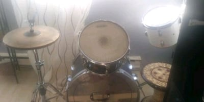 Used drum set for parts