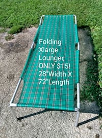 Folding Lounger Chillicothe, 45601