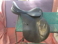 brown leather english saddle Longmont, 80501