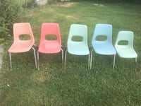 Children's  Stacking chairs $5 each Columbus, 43211