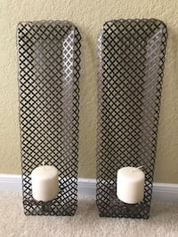 Wall Candle Holder Set
