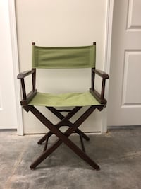 Wooded Folding Director Chairs