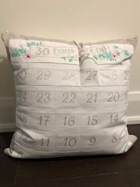 Countdown till I do Pillow  Oakville, L6H 6T1