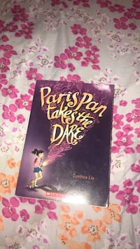 Paris Pan Takes the Dare by Cynthea Liu book