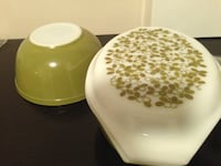 Vintage Pyrex Avocado Green Verde Olive Lot Rockville, 20852