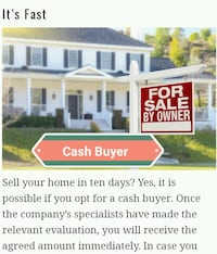 Cash for agly house  Ashburn