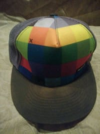 blue, green, and yellow fitted cap Long Beach, 90808