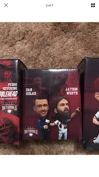 Dan Kolko and Jayson Werth bobblehead figure box screenshot Chantilly, 20151