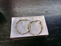 Sterling silver hoops Dunnellon, 34432