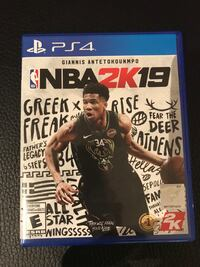 PS4 - NBA 2K 19 New Vaughan, L4H 1M1