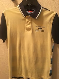 yellow and black Polo by Ralph Lauren polo shirt Spring, 77379