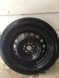 Steel rims set of 4 with snow tires Barrie, L4N 0H7